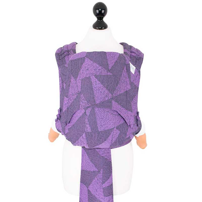 Fly Tai - Mei Tai Evolutivo Tangram Art - morado - Toddler