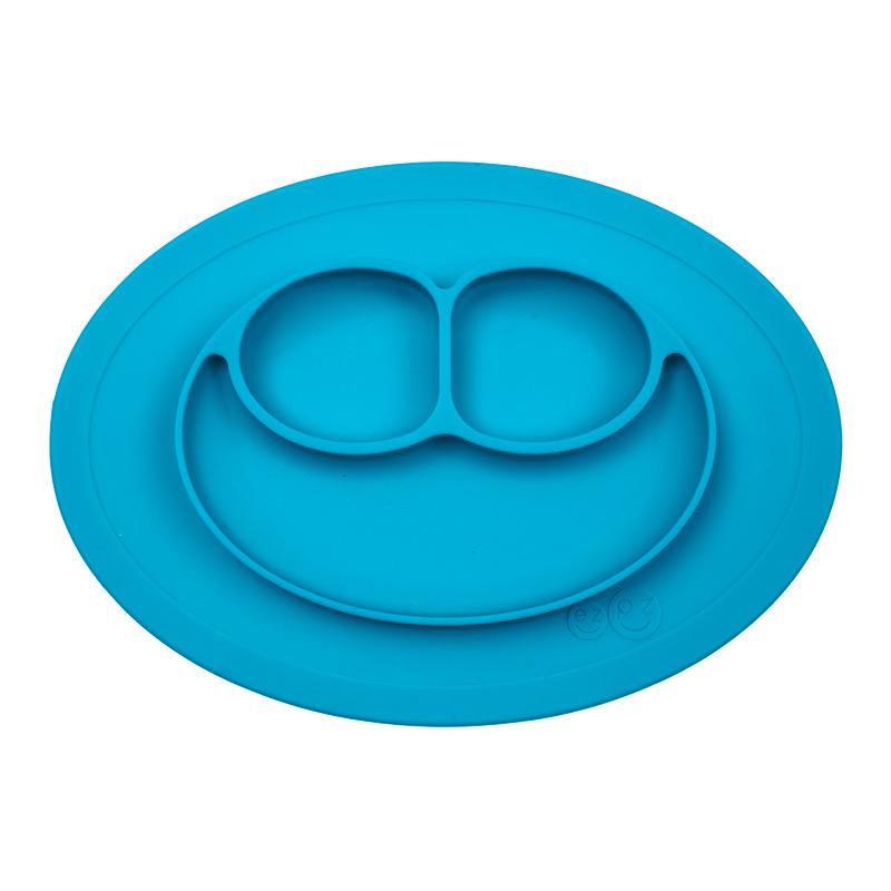 Plato antideslizante Mini Mat Azul