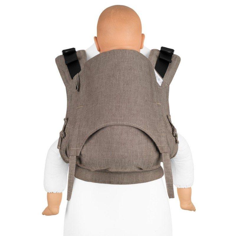 Mochila portabebe Fidella Fusion 2.0 Toddler Chevron Walnut