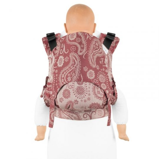 Mochila Fidella Fusion 2.0 Persian Paisley - Ruby red -  Toddler