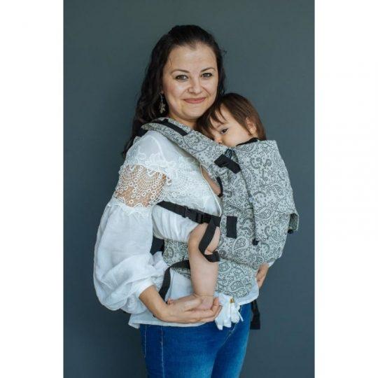 Mochila Neko Switch Baby - Efes Paisley Hazel claro -