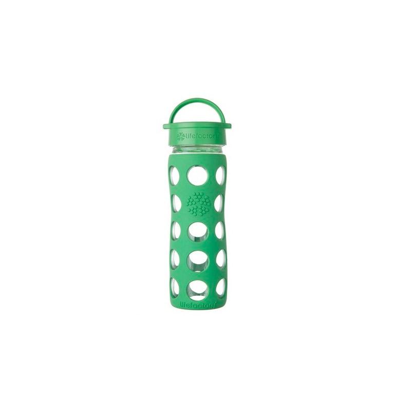 Botella 470 ml Lifefactory Classic Grass Green