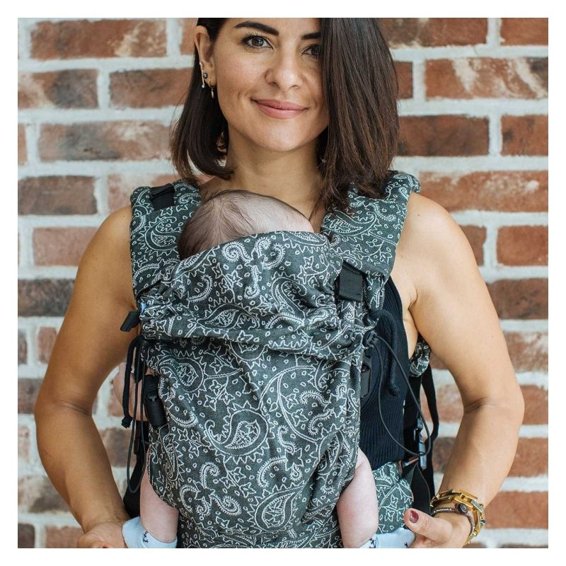 Mochila Neko Switch Baby - Efes Paisley Hazel Dark -
