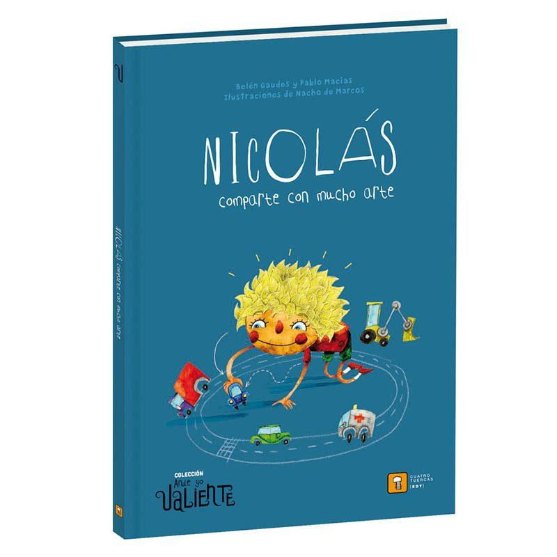 Nicolás comparte con mucho arte - Monetes