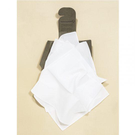 6 Pañuelos de algodón orgánico