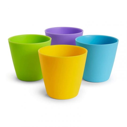 Pack 4 vasos multicolor Modern de 230 ml