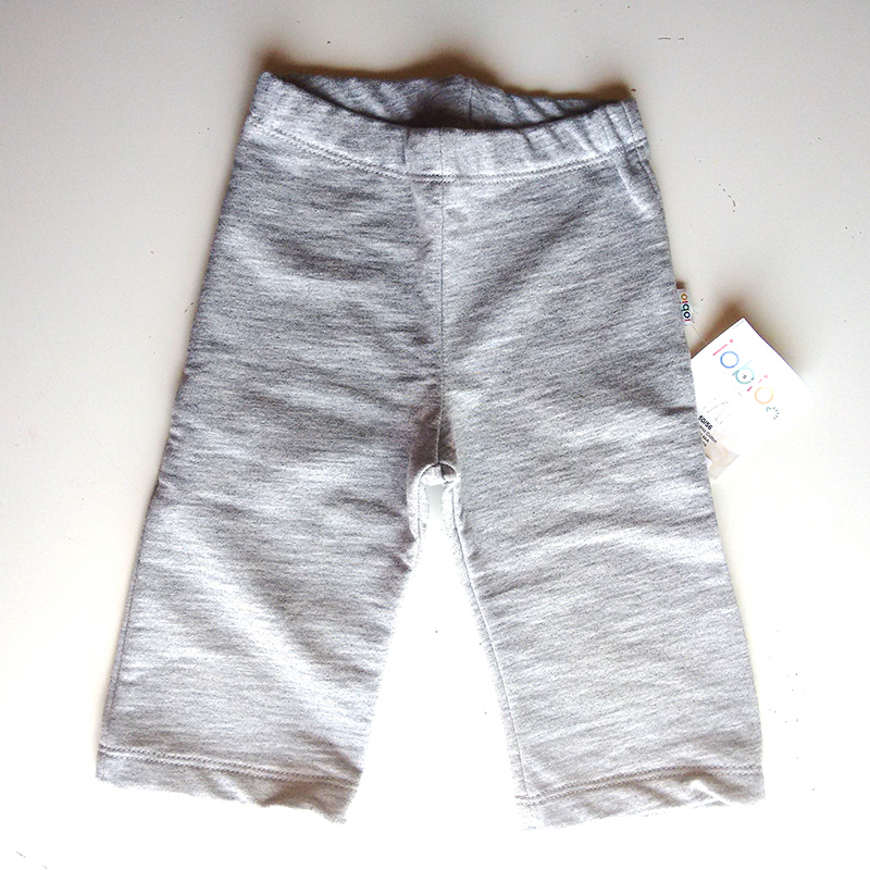 Pantalón básico Algodón Orgánico Gris