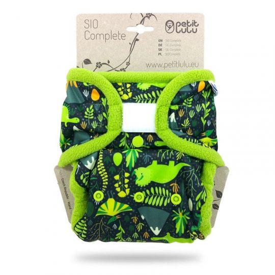 Pañal TE2 Velcro Petit Lulu - Dinos -