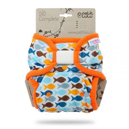Pañal TE2 Velcro Petit Lulu - Goldfish -