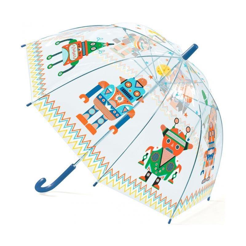 paraguas-robots-djeco-monetes