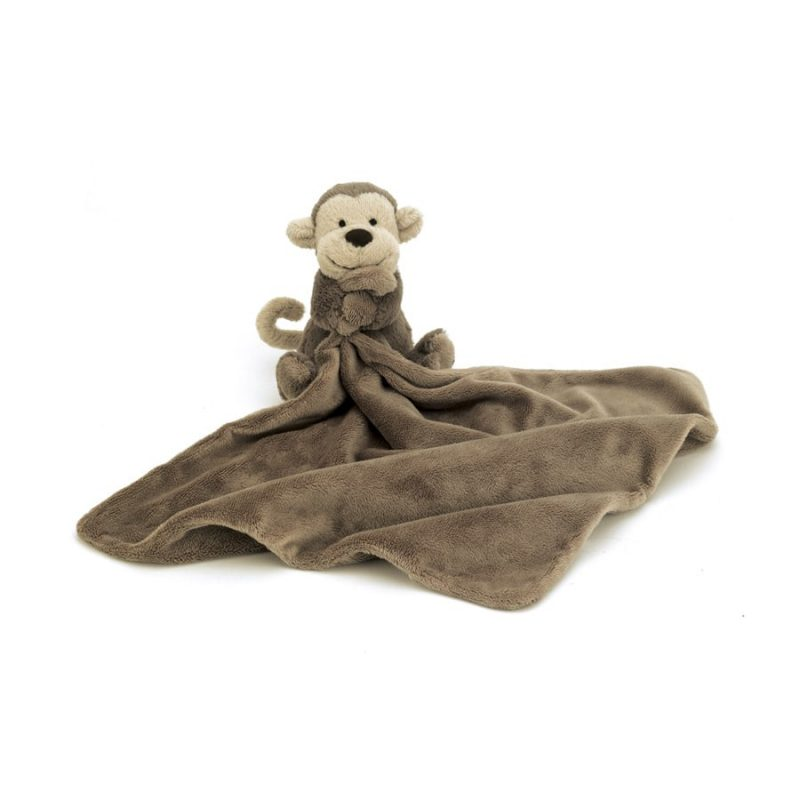 Peluche Jellycat Bashful Monkey Soother - Monetes