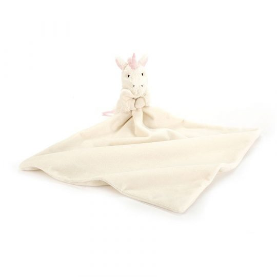 Doudou Jellycat Bashful Unicorn Soother
