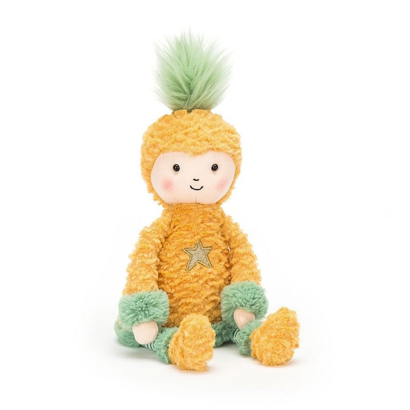 Peluche Jellycat Perky Pineapple Top - Monetes