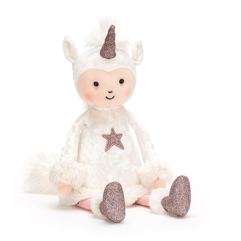 Peluche Jellycat Perky Unicorn Moon - Monetes