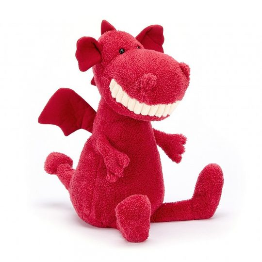 Peluche Jellycat Toothy Dragon