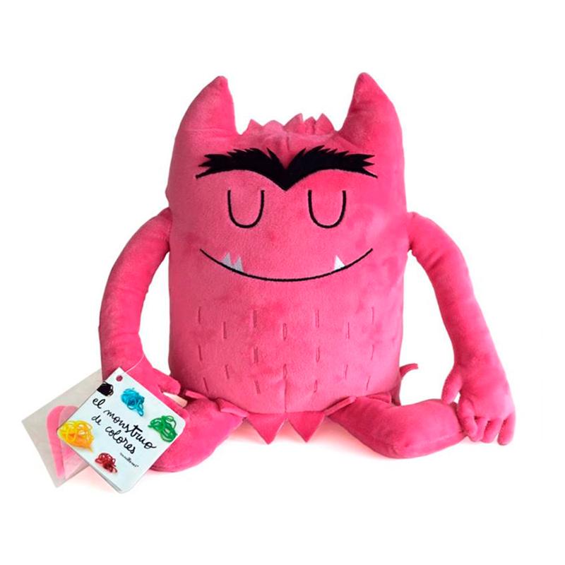 Peluche el Monstruo de Colores - Rosa -