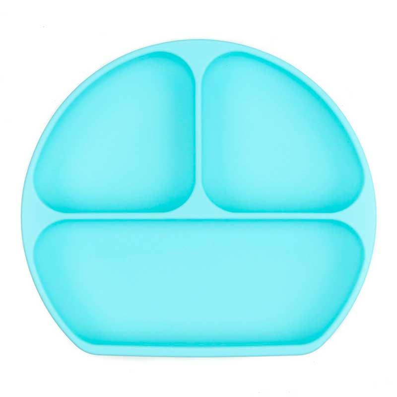 Plato con agarre Bumkins - Azul -