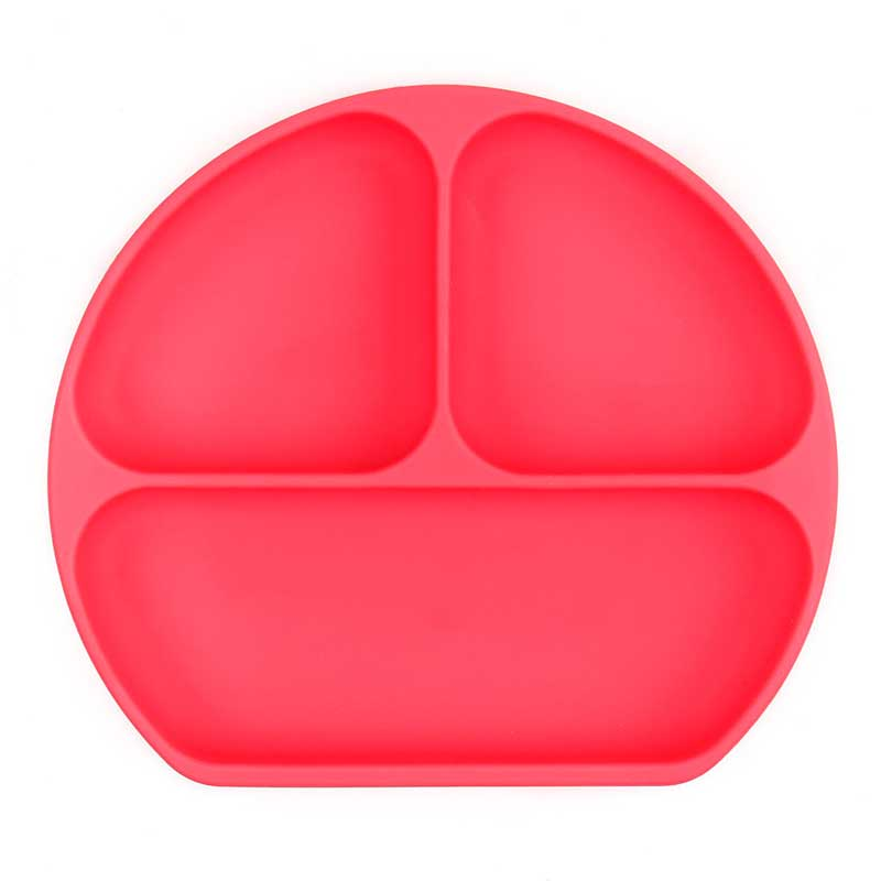 Plato con agarre Bumkins - Rojo -