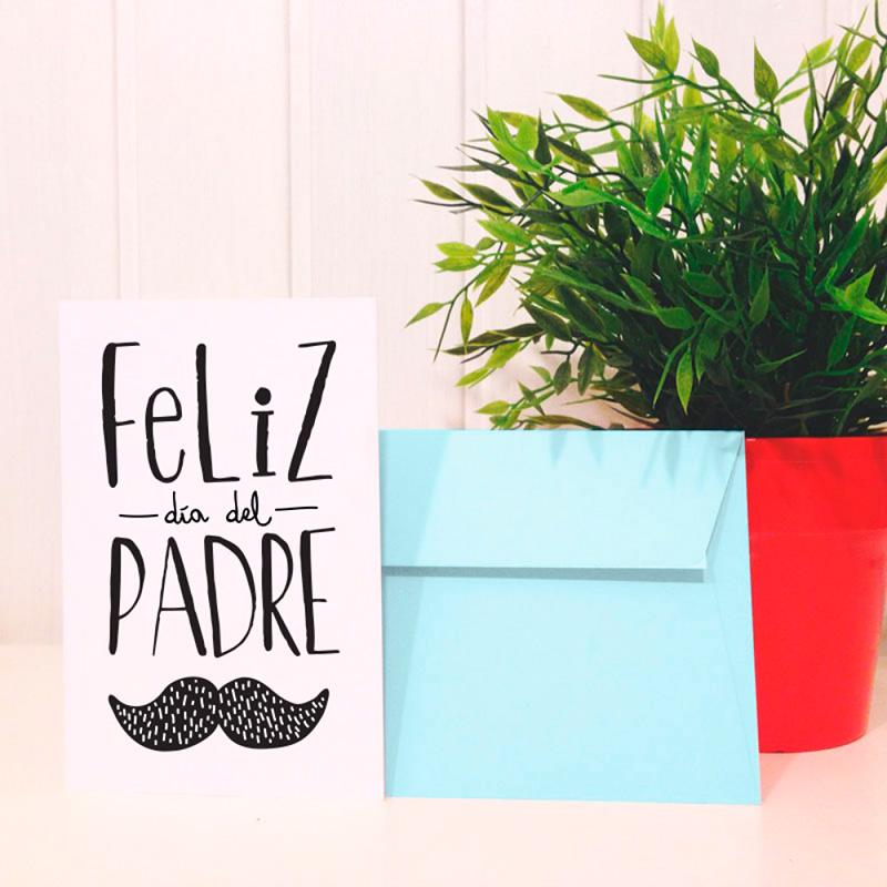 Postal 'Feliz día del padre'
