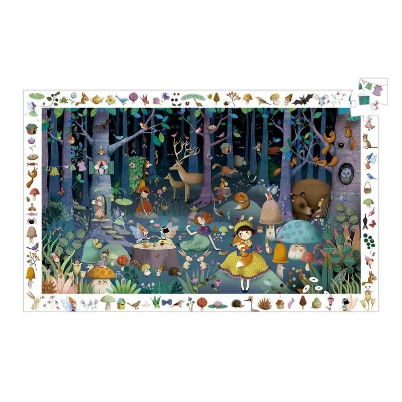 puzzle-bosque-encantado-100-piezas-djeco-monetes
