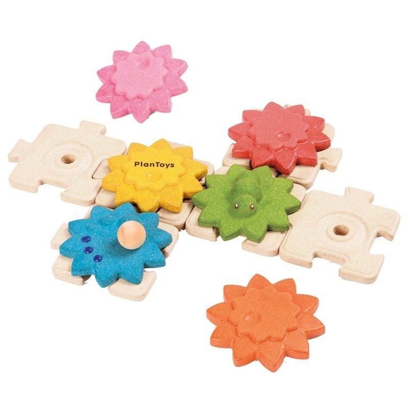 Puzzle de engranajes - Monetes