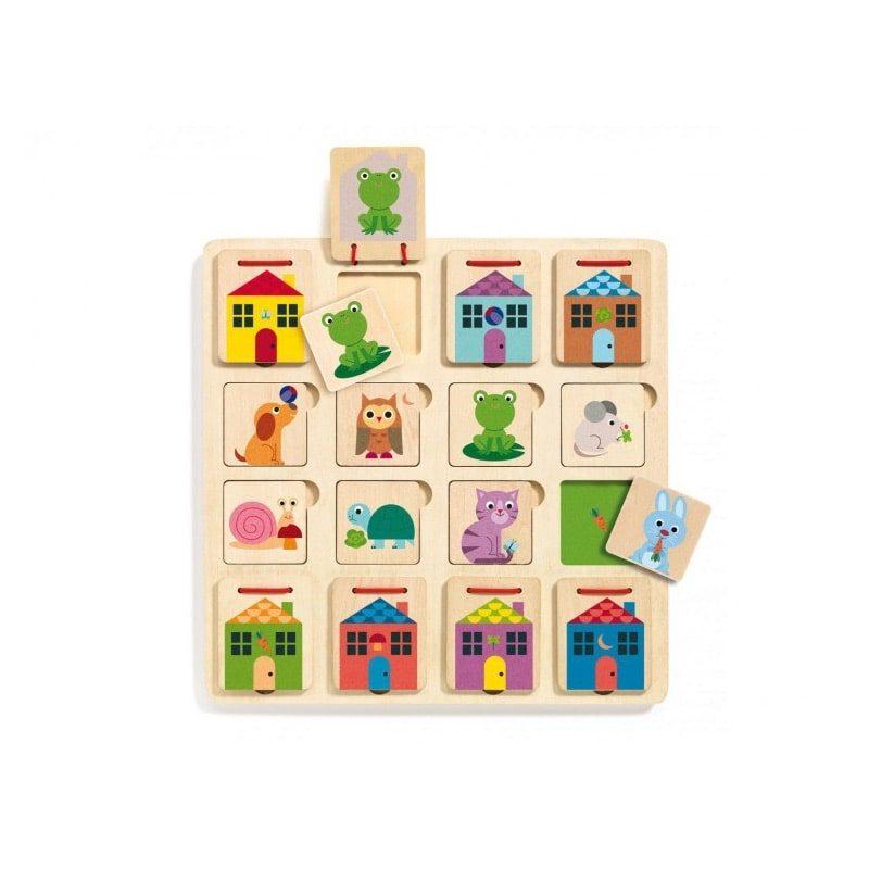 Puzzle escondite Cabanimo - Monetes