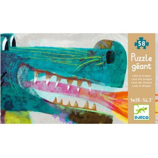 Puzzle Gigante El Dragón León