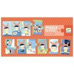 Puzzle La Jornada 10 piezas - Monetes