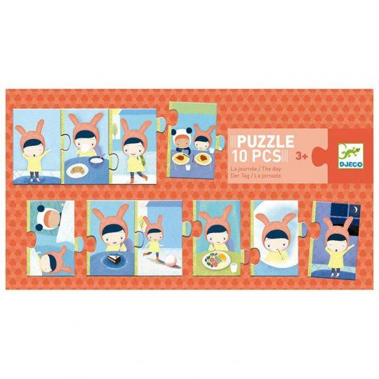 Puzzle La Jornada 10 piezas
