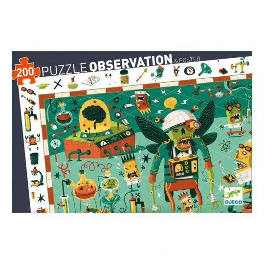 Puzzle Observación Crazy Lab
