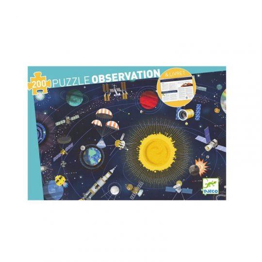 Puzzle Observación El Espacio - 200 piezas -