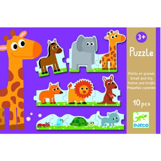 Puzzle Pequeños y Grandes