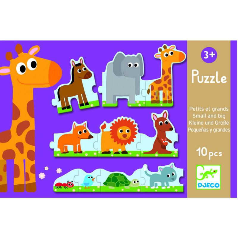 puzzle-pequeños-grandes-djeco-monetes