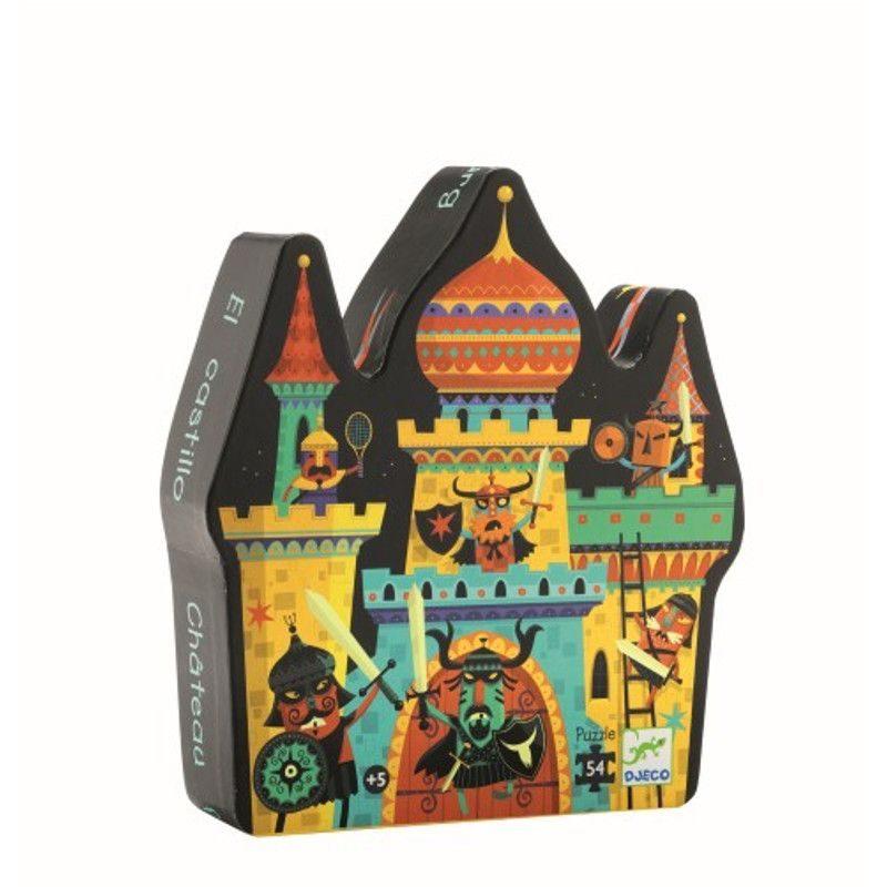 puzzle-silueta-castillo-djeco-monetes