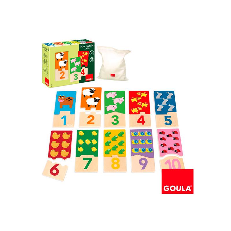 Puzzle Dúo 1-10