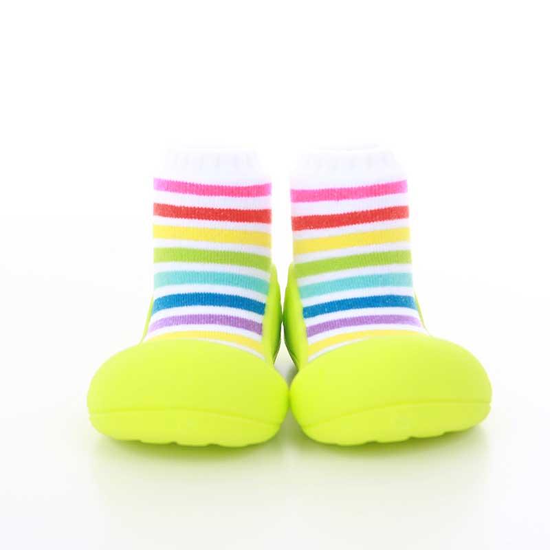 Zapatos Attipas Rainbow -verde-