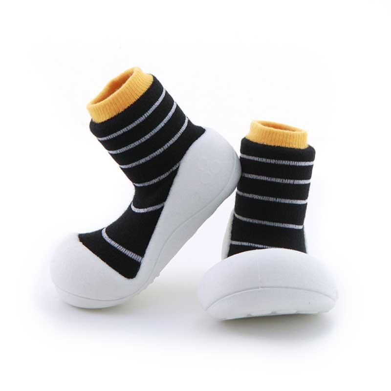 Zapatos Attipas Urban -rayas amarillo-