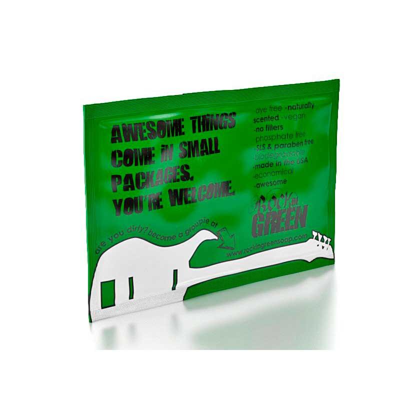 Muestra Detergente Rockin Green Classic Rock