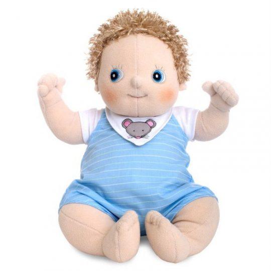 Muñeco Rubens Barn Baby Sexuado - Erik -