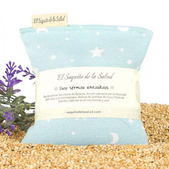 Saco semillas Anticólico - Celeste -