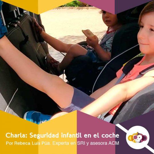 Charla: seguridad infantil en el coche