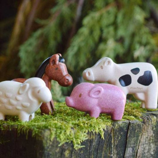 Set animales de la granja Plan Toys