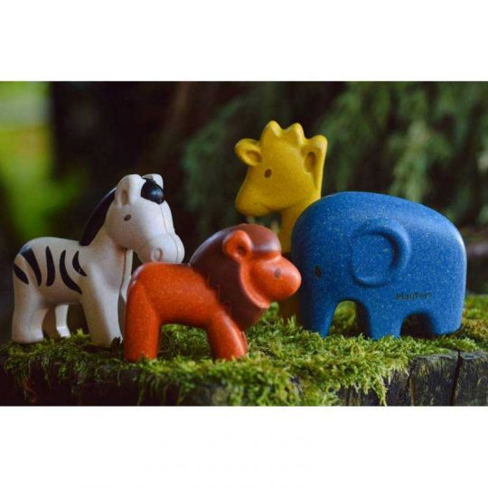 Set animales salvajes Plan Toys