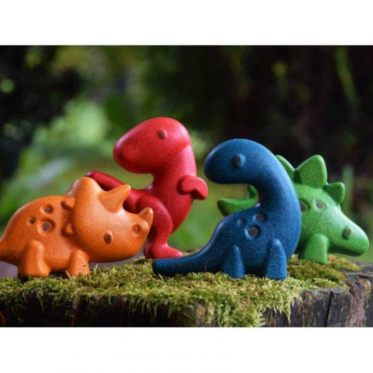 Set dinosaurios Plan Toys