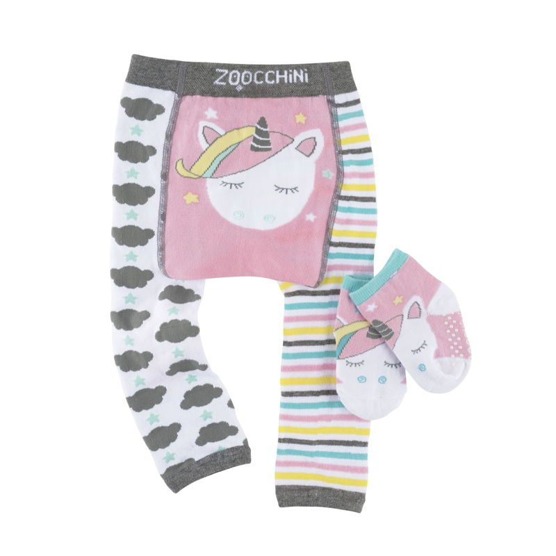 set-leggings-calcetines-allie-unicornio-zoocchini-monetes