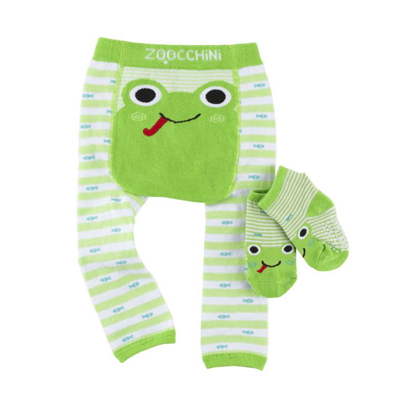 set-leggings-calcetines-flippy-rana-zoocchini-monetes