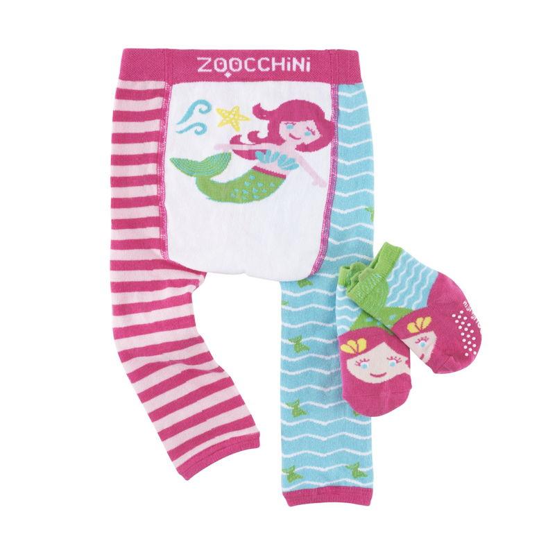set-leggings-calcetines-marietta-sirena-zoocchini-monetes