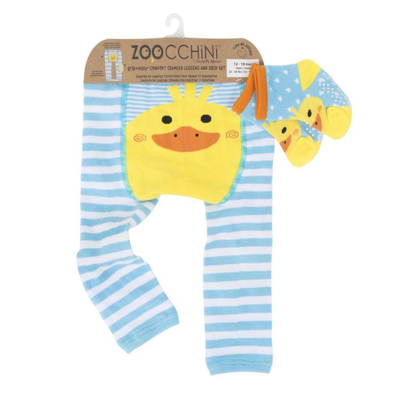 set-leggings-calcetines-puddles-pato-zoocchini-monetes-5