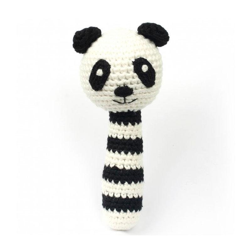 Sonajero Bambú Nature - Panda -
