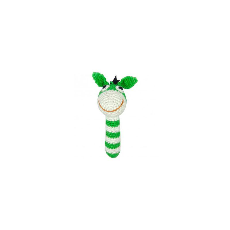Sonajero Bambú Nature - Burro Verde -